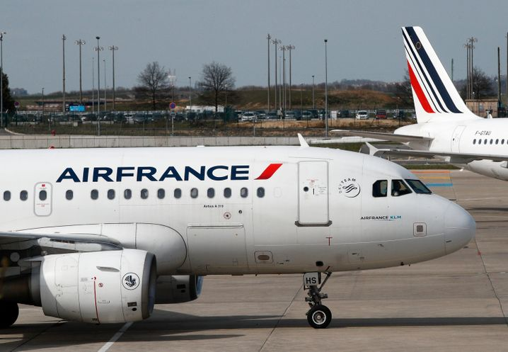 Maschine der Air France