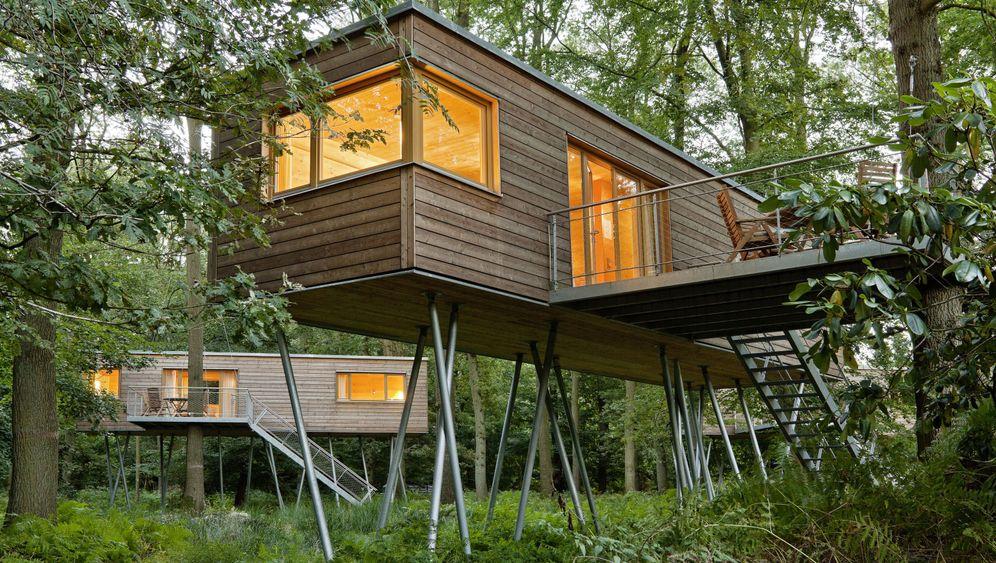 Baumhaushotels: Urlaub im Wipfel