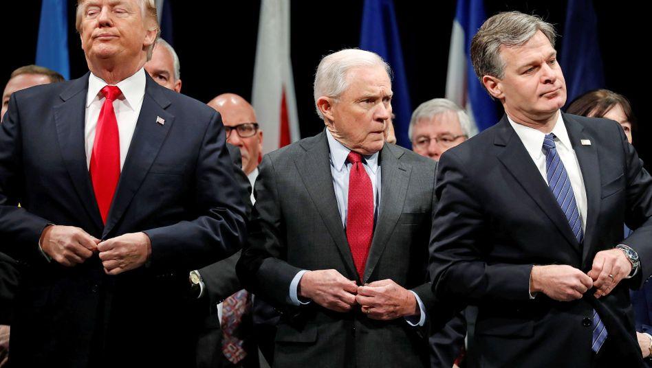 Trump und Sessions (Dezember 2017)