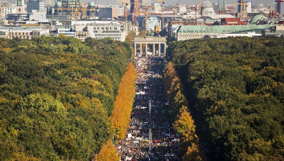 Anti-TTIP-Demo in Berlin: Wir sollten uns alle einmischen und nachfragen