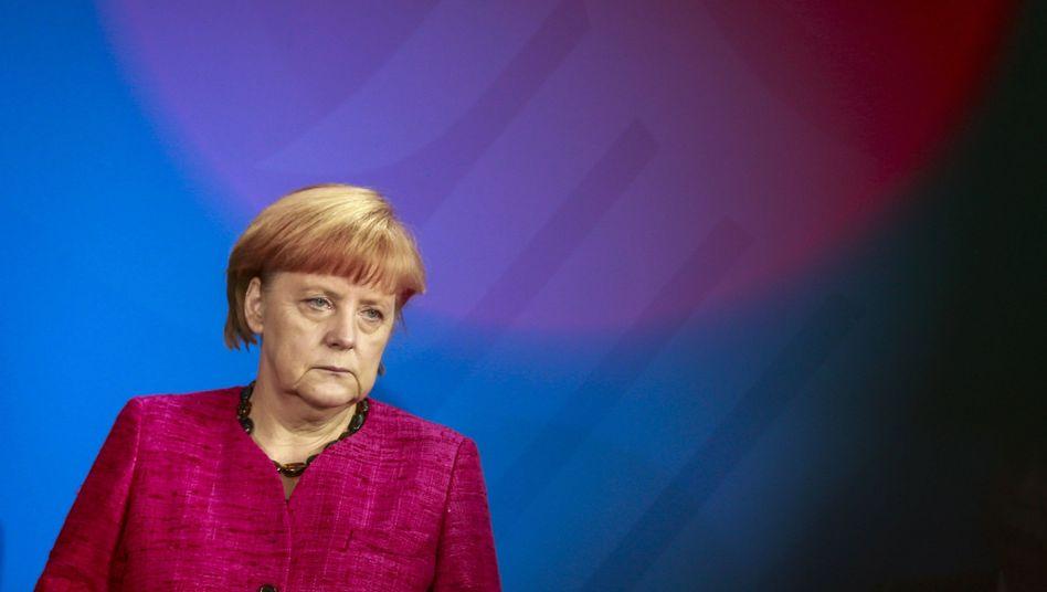 Kanzlerin Merkel: Angst vor der Zukunft