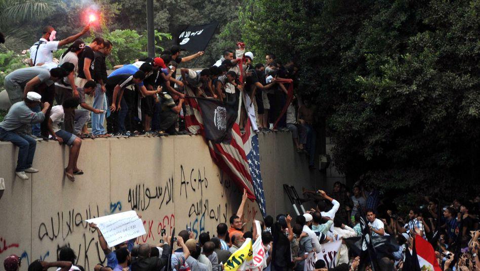 Unruhen vor US-Botschaft in Kairo: Videoplattform verantwortlich?