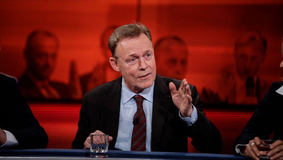 """Thomas Oppermann (SPD) bei """"Hart aber fair"""": Am Montagabend ging es bei Frank Plasberg um das Thema """"Jetzt auch die CDU - stürzt die nächste Regierungspartei ins Chaos?"""""""
