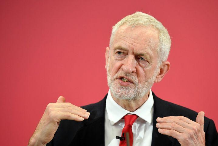 Jeremy Corbyn: Keine eindeutige Positionierung