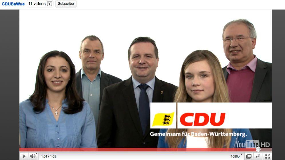 Kampagnen von SPD und CDU: Verwechselbare Wahlvideos