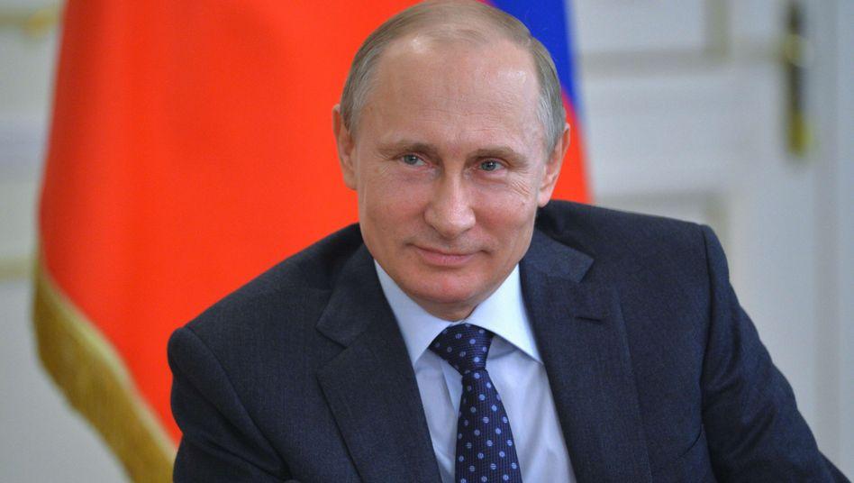 Russlands Staatspräsident Putin: Beliebt wie noch nie
