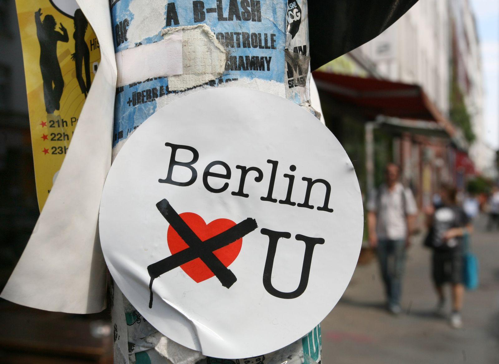 Berlin / Touristen/ Gentrifizierung