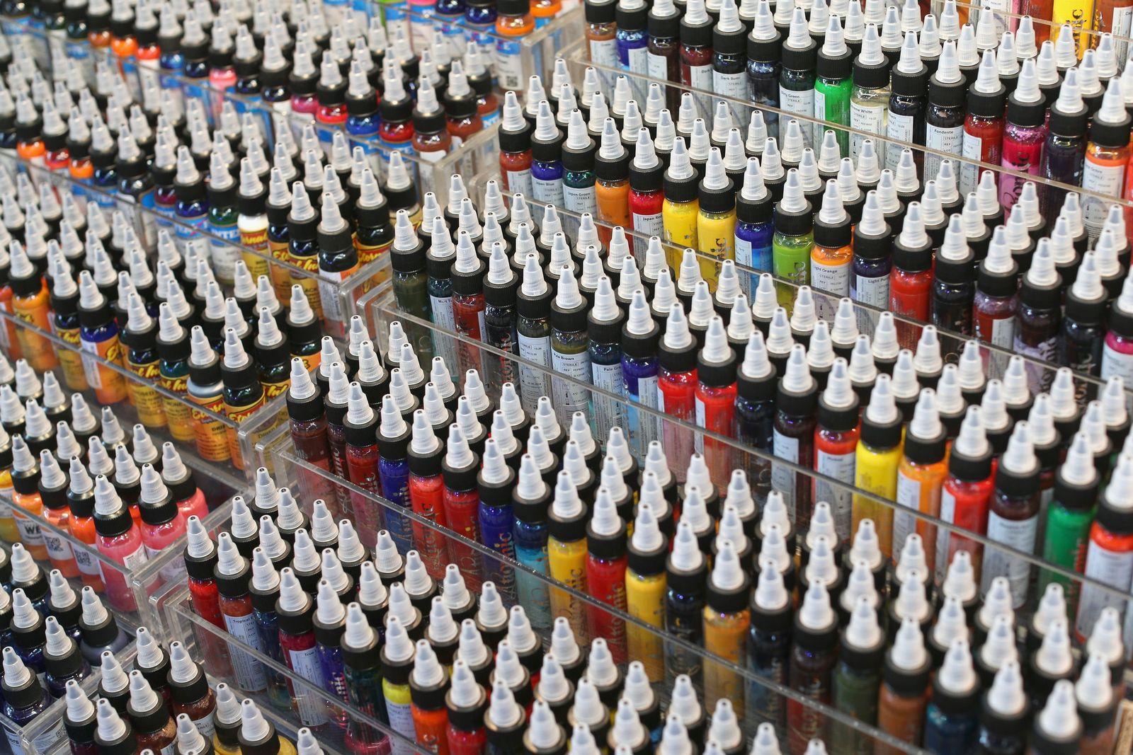 Tattoo-Farben