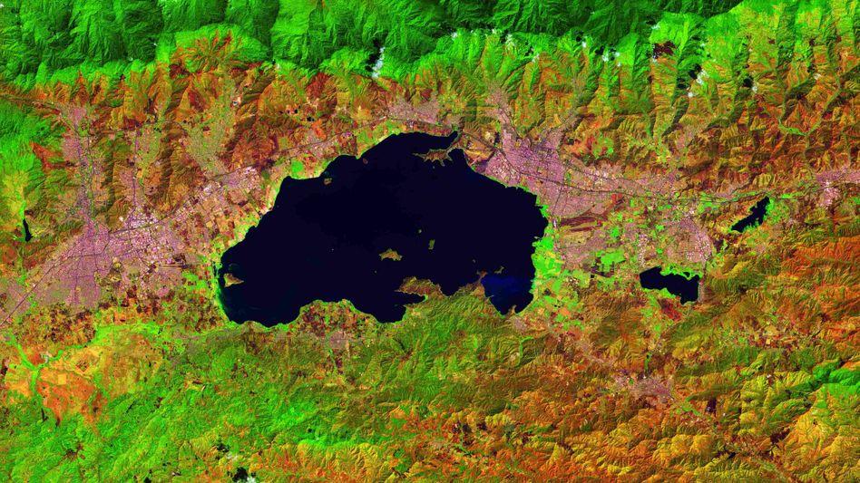 Der Valenciasee im Norden Venezuelas