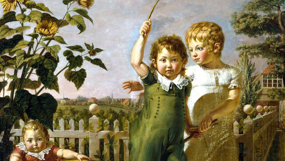 Philipp Otto Runges Gemälde »Die Hülsenbeckschen Kinder« (1805/6): Es lohnt sich, genauer hinzuschauen