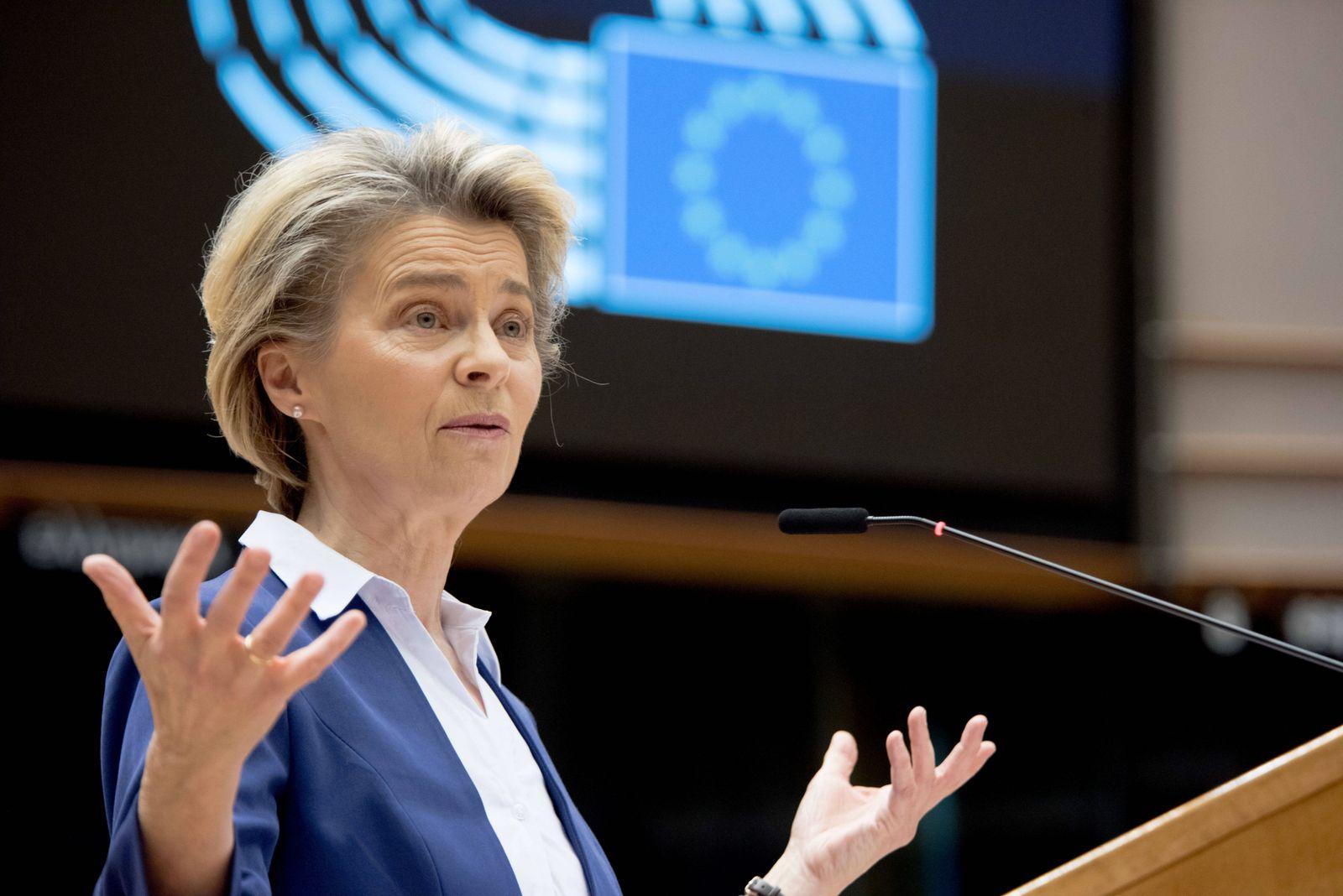 News Themen der Woche KW03 (210120) -- BRUSSELS, Jan. 20, 2021 -- European Commission President Ursula von der Leyen del