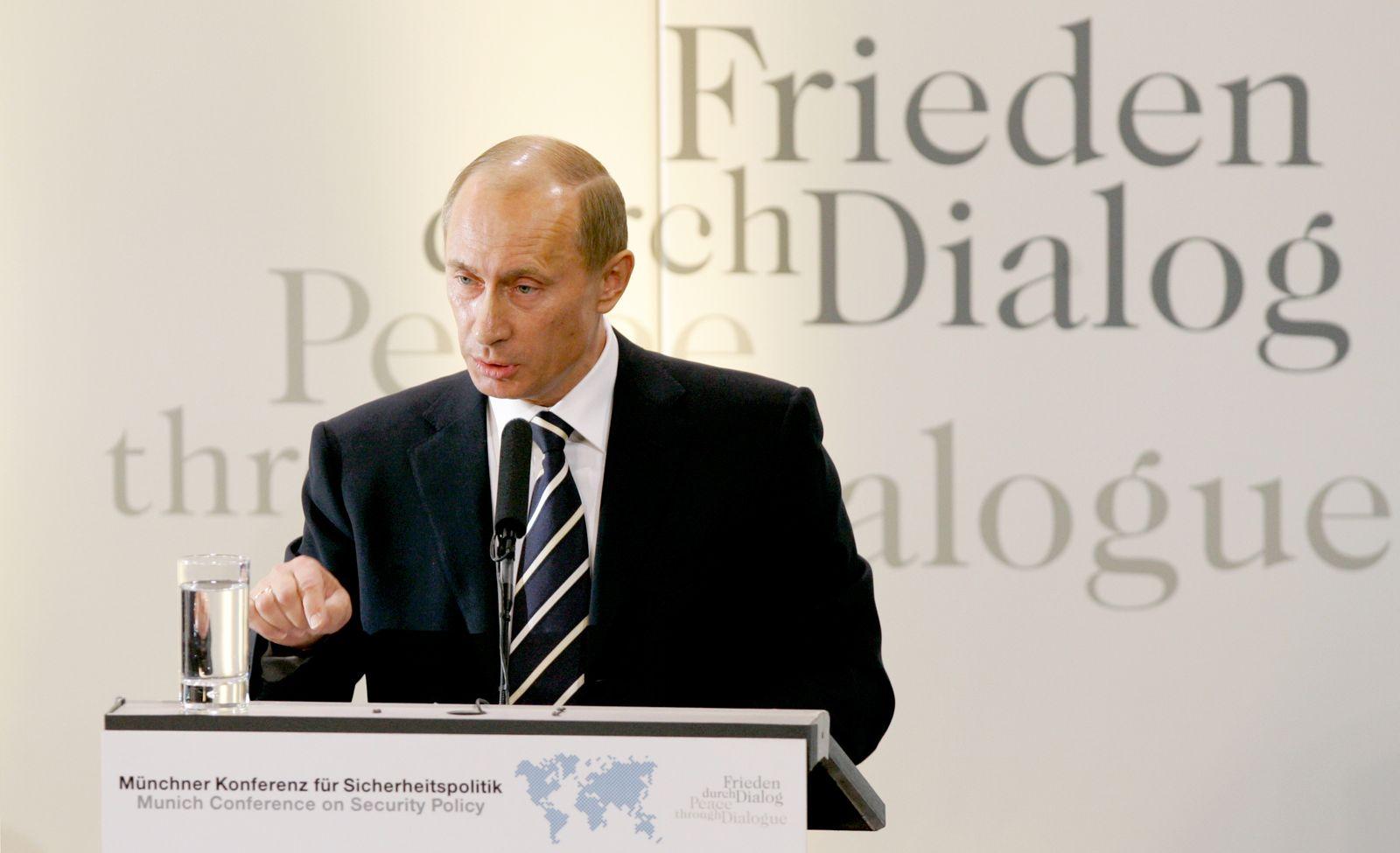 Sicherheitskonferenz 2007 - Wladimir Putin
