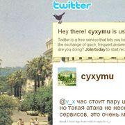Twitter-Account: Der georgische Nutzer Cyxymu ist wieder online - angeblich war er das Ziel der Attacke