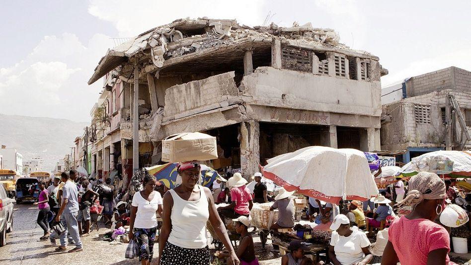 Verwüstete Hauptstadt Port-au-Prince