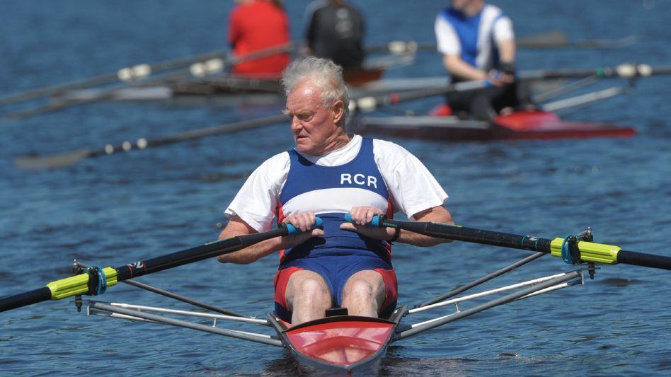 Sportlicher Rentner: Diskussion um die Absicherung im Alter