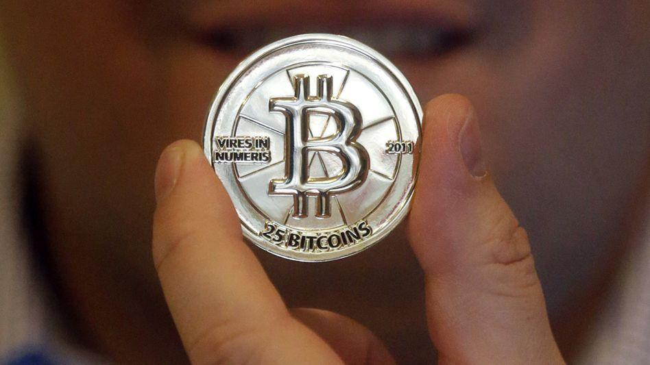 Bitcoin-Münze (Metallmünze mit integriertem Code): Reguläre Währung?