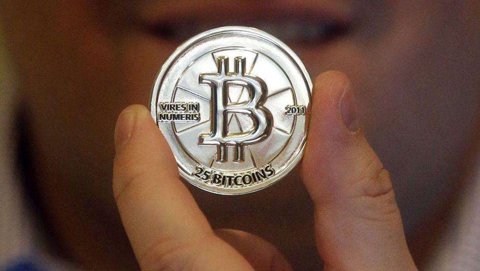 Bitcoin-Visualisierung: Die Preise der digitalen Währung explodieren