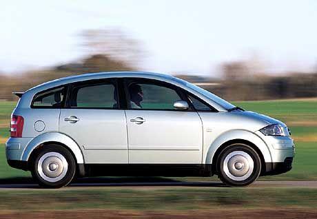 Sieger in der Kategorie untere Mittelklasse: Audi A2