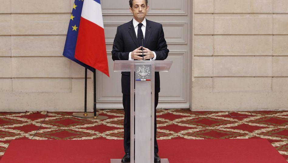 Wahlverlierer Sarkozy: Unterm Strich bleibt nicht viel