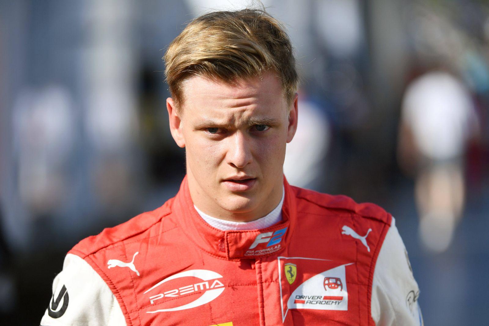 Mick Schumacher faehrt ab 2021 in der Formel 1 fuer das Team Haas. Archivfoto; Mick SCHUMACHER (Prema Racing),Formel 2,