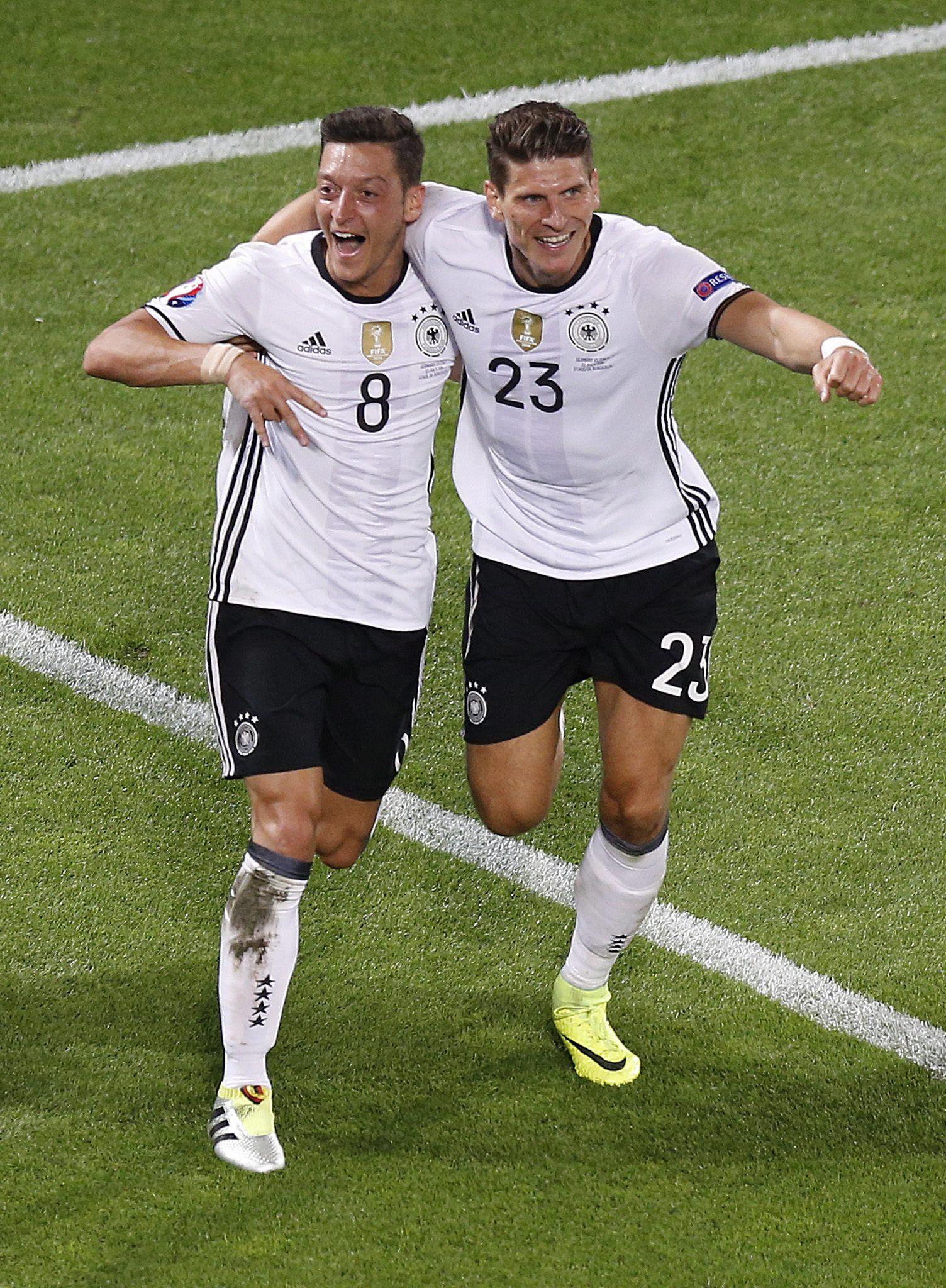 EURO 2016 - Quarter final Germany vs Italy