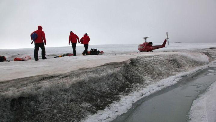 Grönland: Per Hubschrauber in die Zivilisation