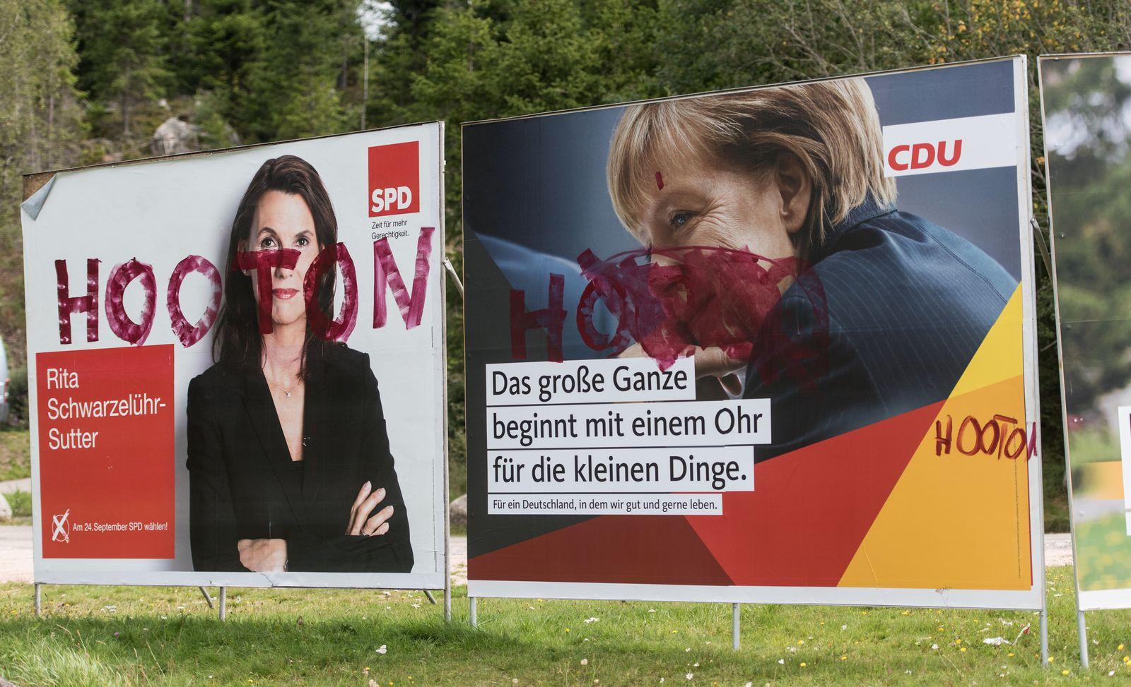 Beschmiert/ Merkel
