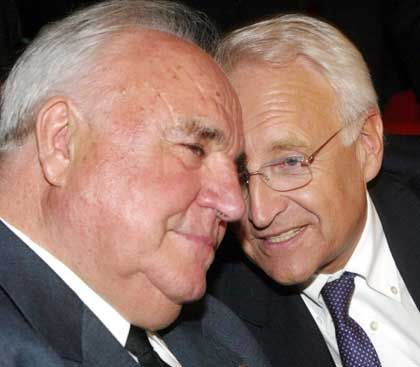 Es-Kanzler Kohl, Kandidat Stoiber: Im Ton vergriffen