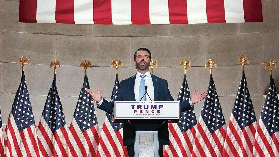 """Wahlkämpfer Trump Jr:""""Was, wenn er ein Verlierer ist?"""""""