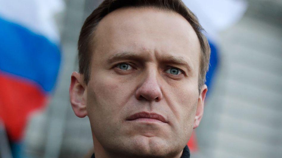 Russischer Oppositionspolitiker Alexej Nawalny (Archivfoto vom Februar)
