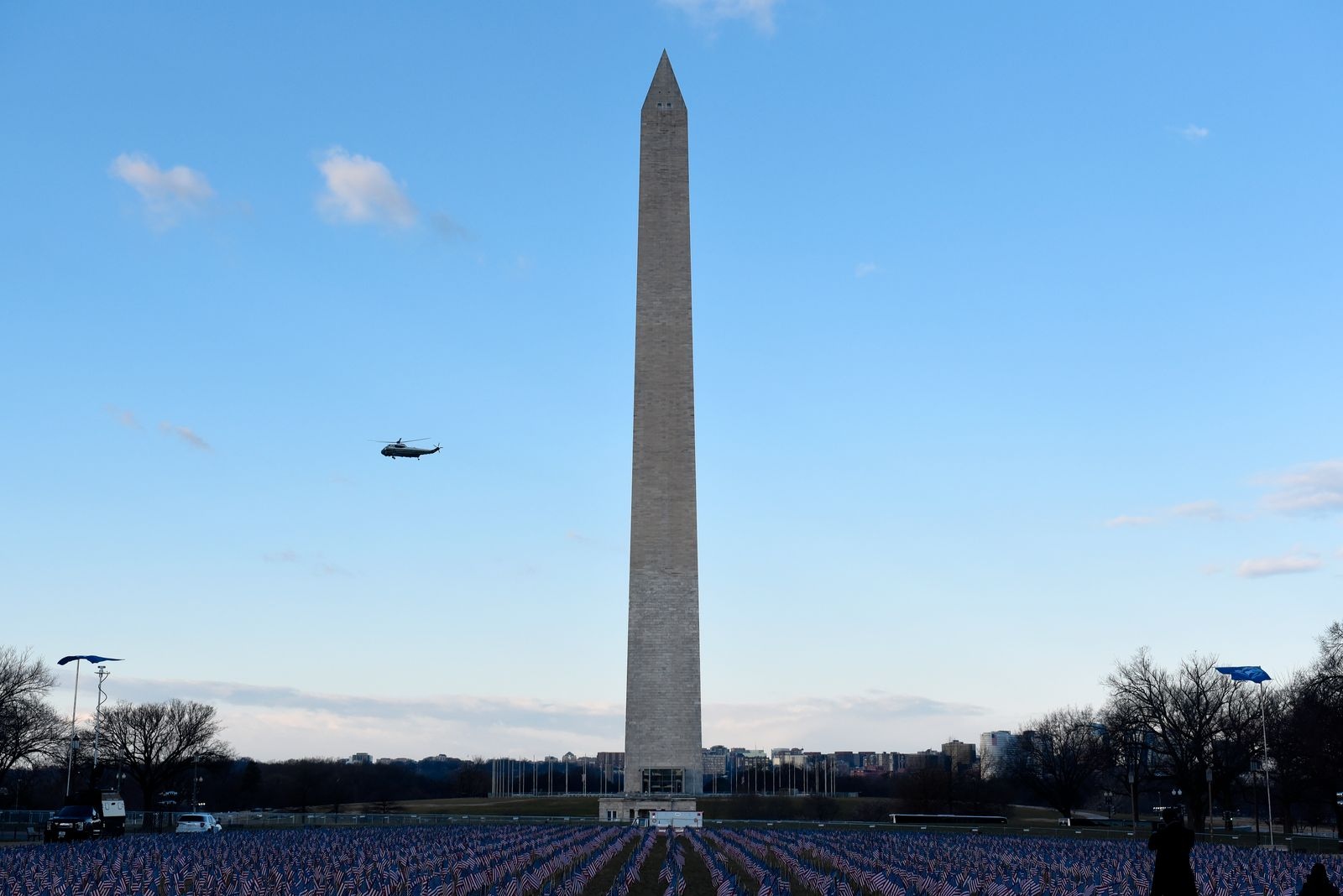 Heavily Guarded Nation's Capital Hosts Presidential Inauguration