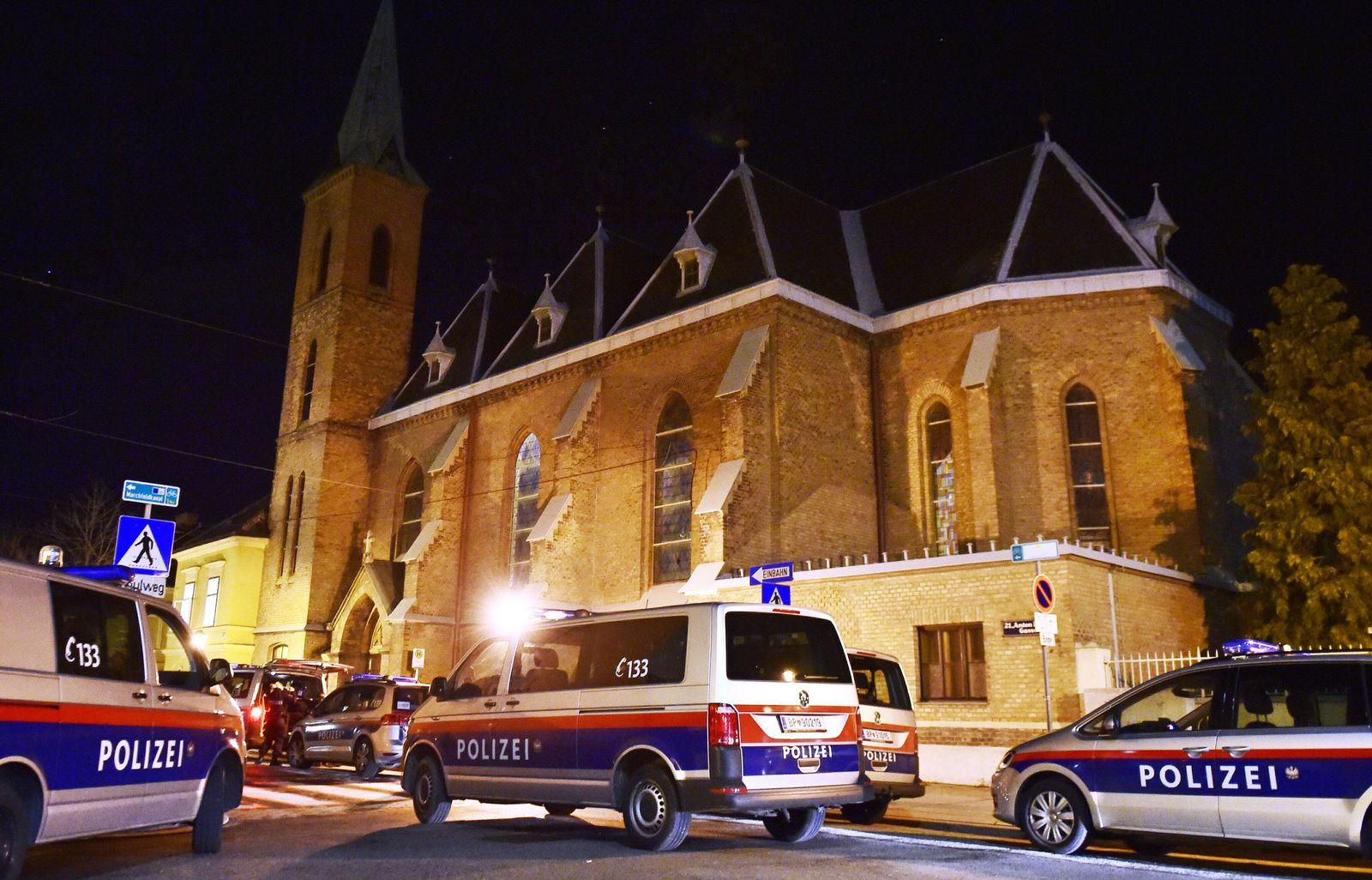 Überfall in Wiener Kirche