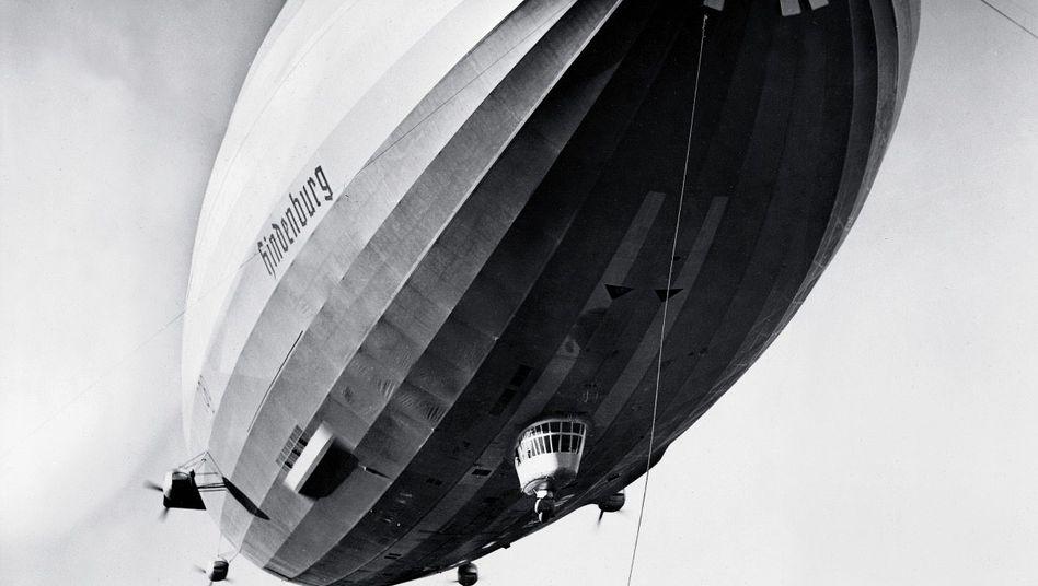 Luftschiff »Hindenburg« 1936