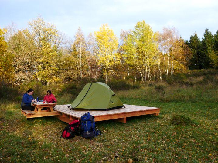 Trekkingcamp in der Nordeifel