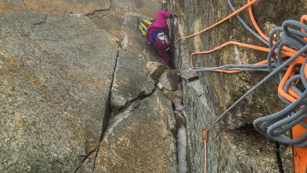Alpinklettern, Eisklettern, Gleitschirmfliegen: Ulligunde und die Angst