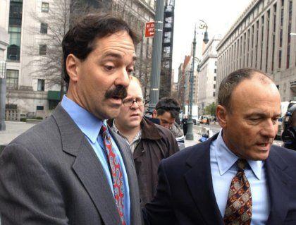 Banker Quattrone bei seiner Festnahme im April 2003: Keine Gnade vor dem Richter