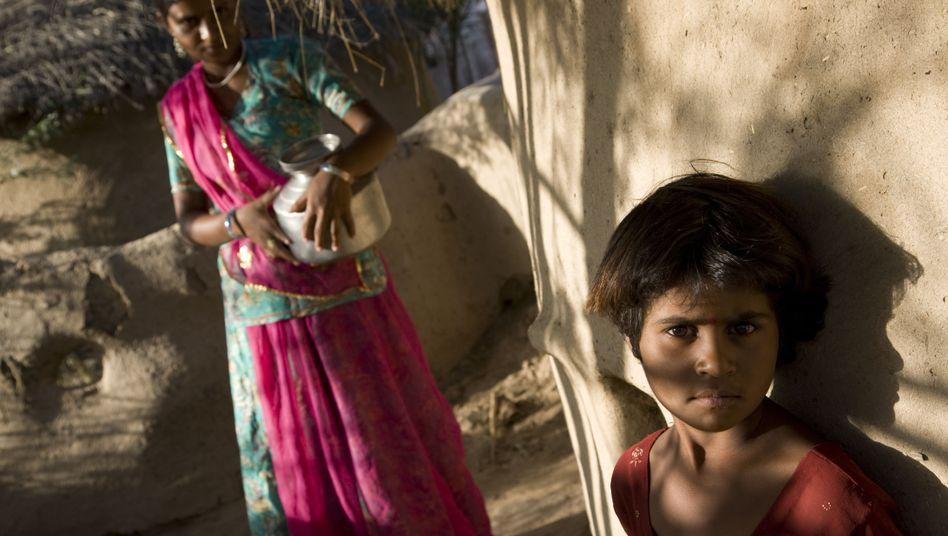 Mädchen in Indien: Missbrauch von Kindern weltweit