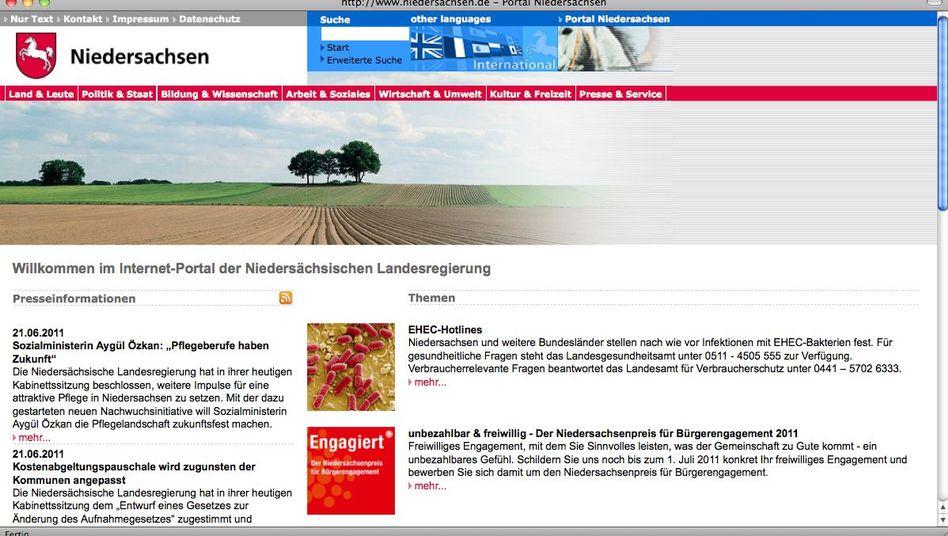niedersachsen.de: Erreichbar selbst für Nutzer mit erhöhtem Datenschutzbedürfnis