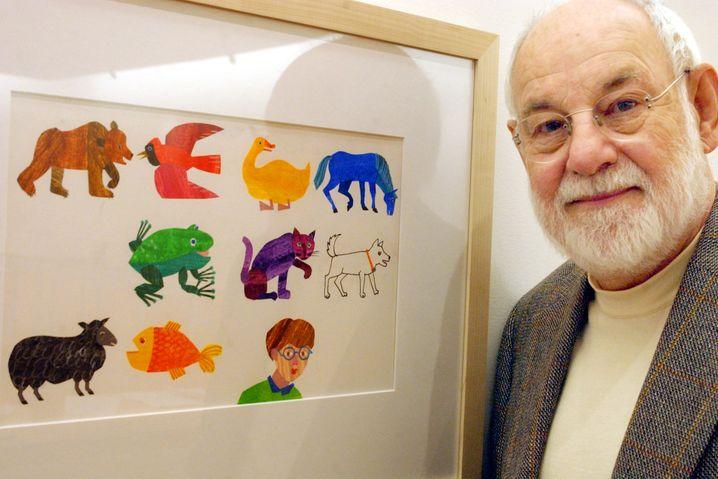 Illustrator Eric Carle: Seine Bücher werden immer einen Platz in unserem Bücherregal behalten
