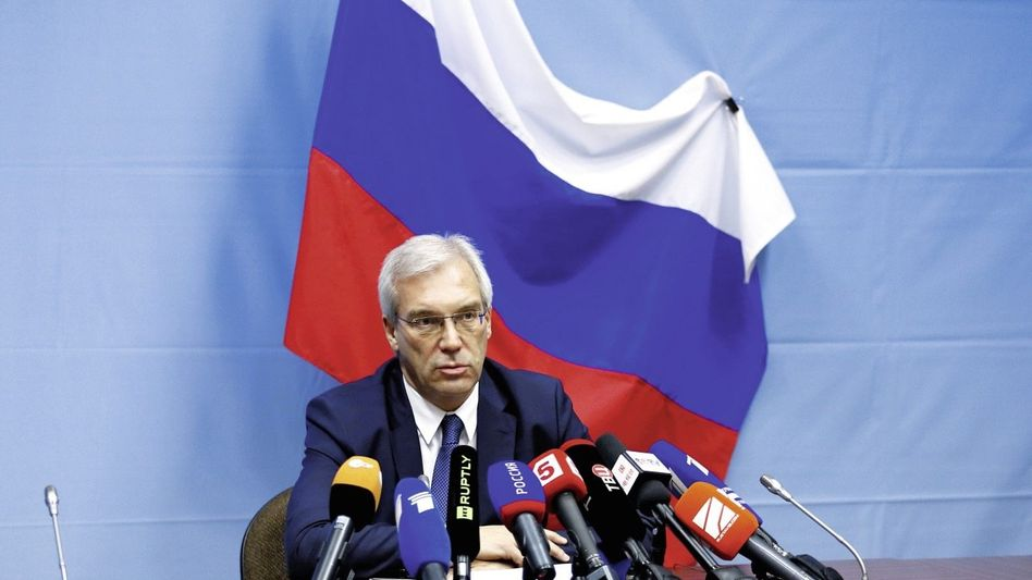 Russischer Diplomat Gruschko: Schlaflose Nächte in Brüssel