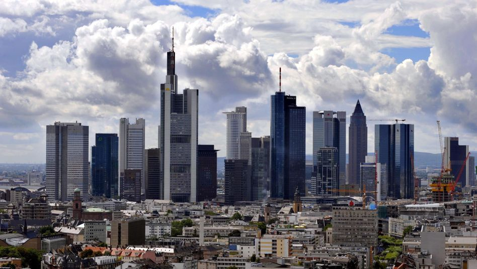 The Frankfurt skyline: What would a Greek haircut mean for Germany?