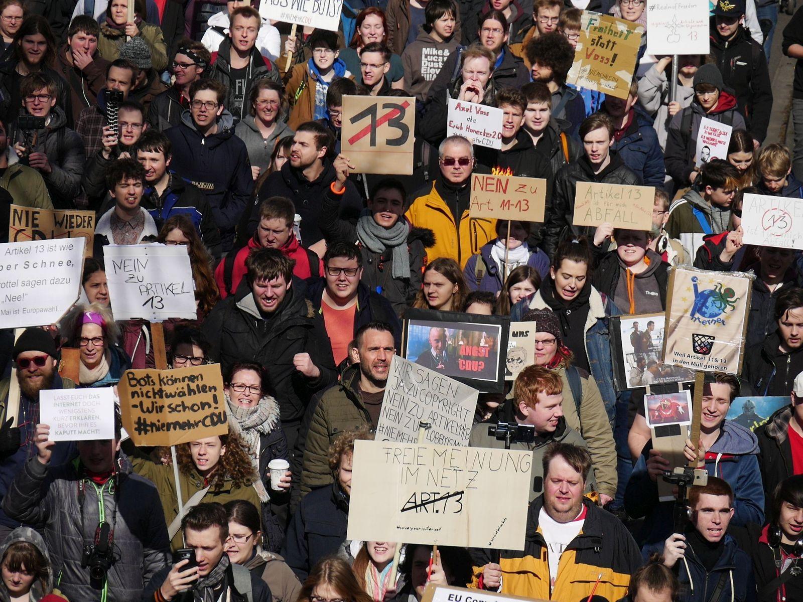 Protest Köln März 2019