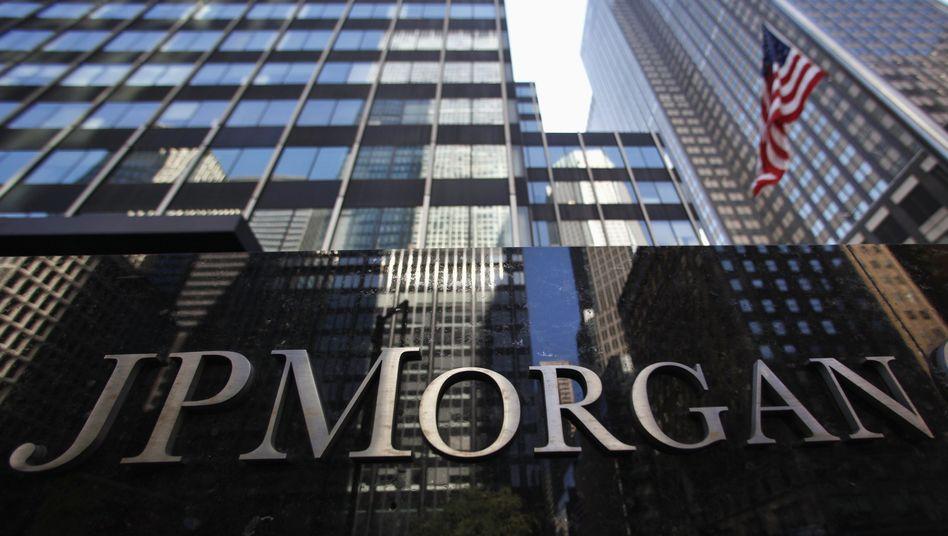 JP-Morgan-Zentrale in New York: Die nächste Milliardenzahlung steht an