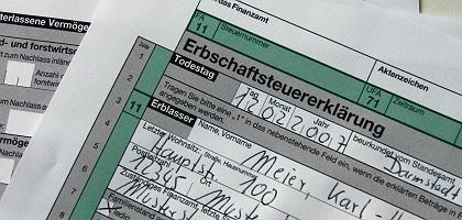Bisherige Erbschaftsteuererklärung: Komplizierte Materie