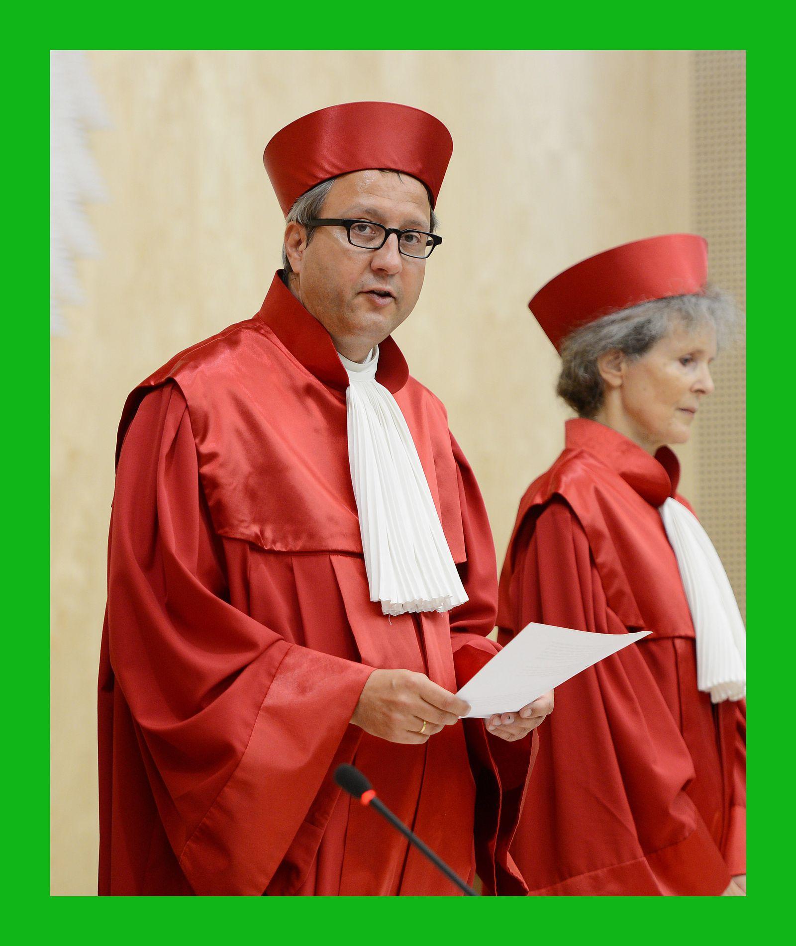 Richter Verfassungsgericht