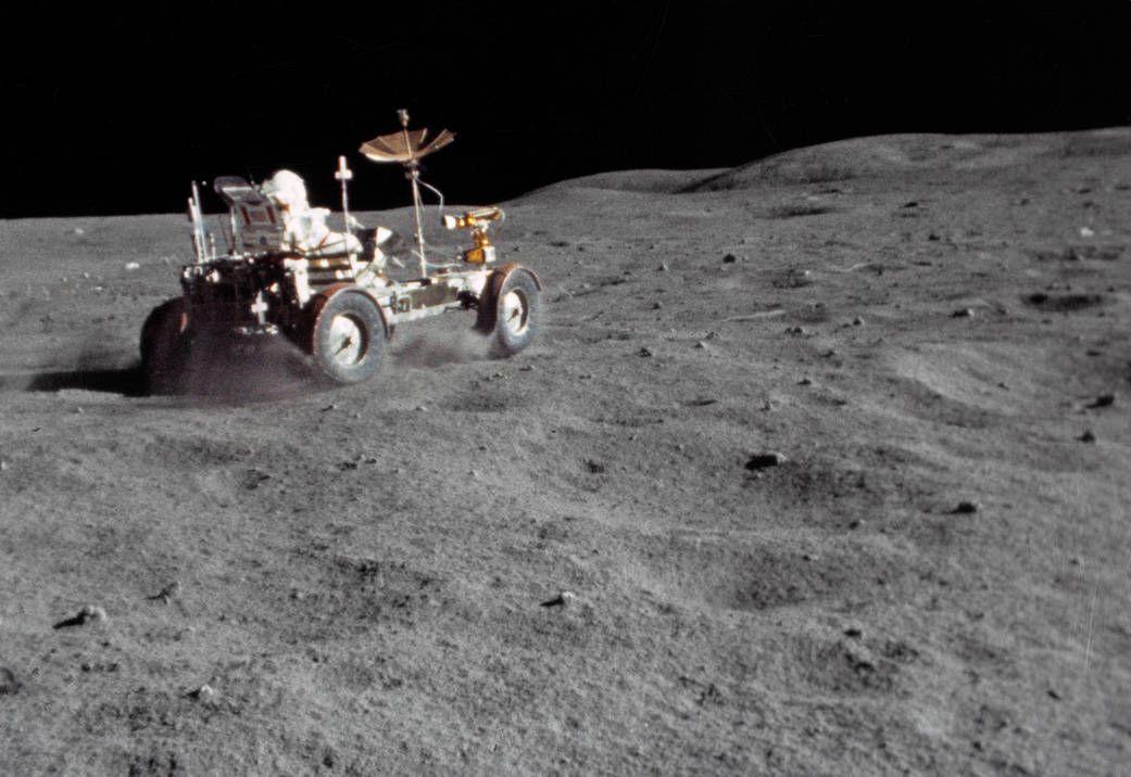 Grand Prix auf dem Mond