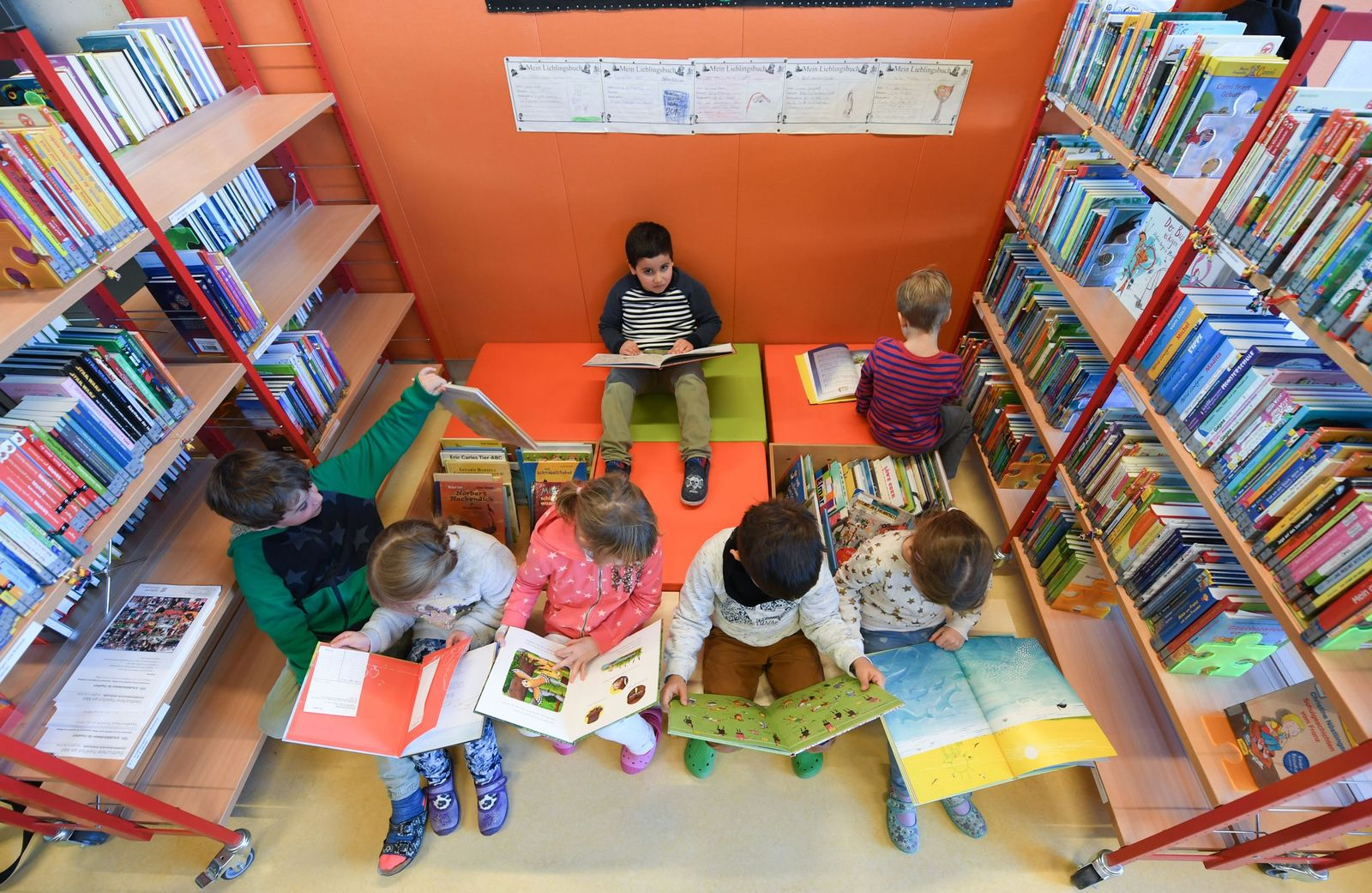 Schulbibliothek in Frankfurt