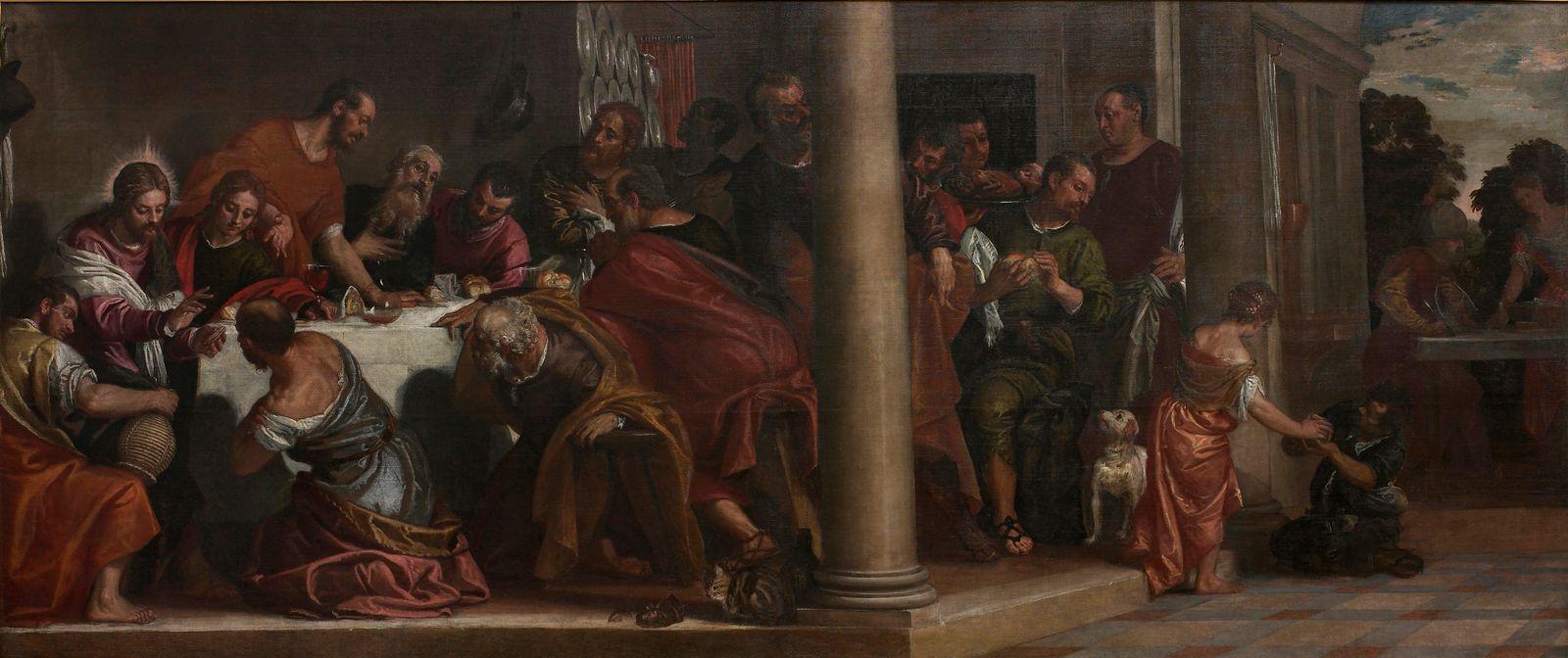 EINMALIGE VERWENDUNG Jesus/ Last supper