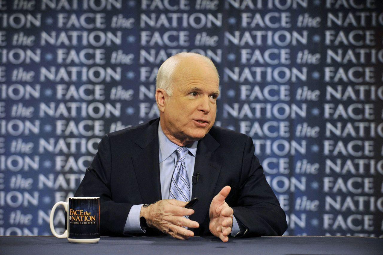 EINMALIGE VERWENDUNG John McCain
