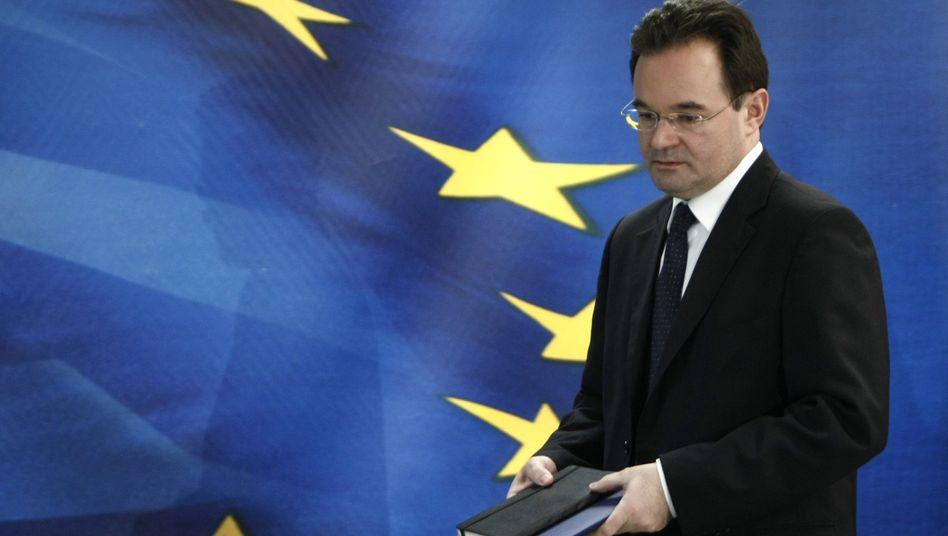 """Finanzminister Papakonstantinou: """"Wir werden diesen Weg gehen"""""""